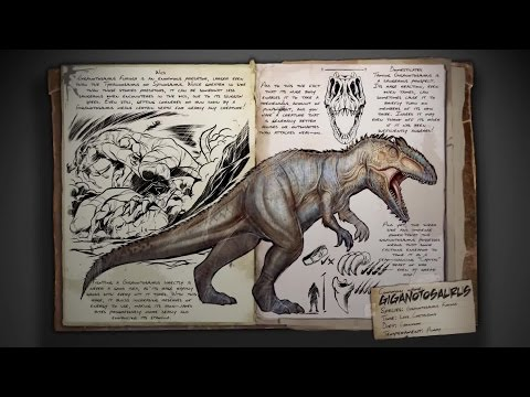 ARK: Survival Evolved - Giganotosaurus Spotlight Trailer | HD