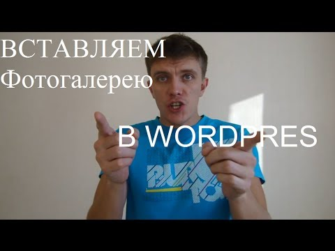 Как сделать галерею в WordPress?