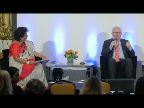 Joseph Keefe and Elizabeth Broderick Highlights from Day 1 – WEPs 2016 Day 2