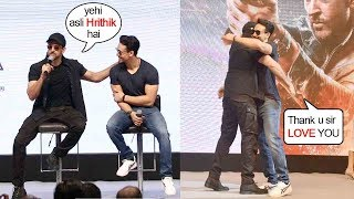 Tiger Shroff Gets EM0TI0NAL-N-THANKS Guru Hrithik Roshan For L0VE-N-RESPECT @WAR Victory Celbr.