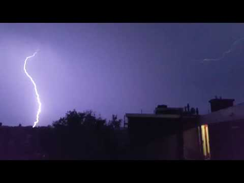 Onweer 06/07/2017 Thunderstorm july 6 2017
