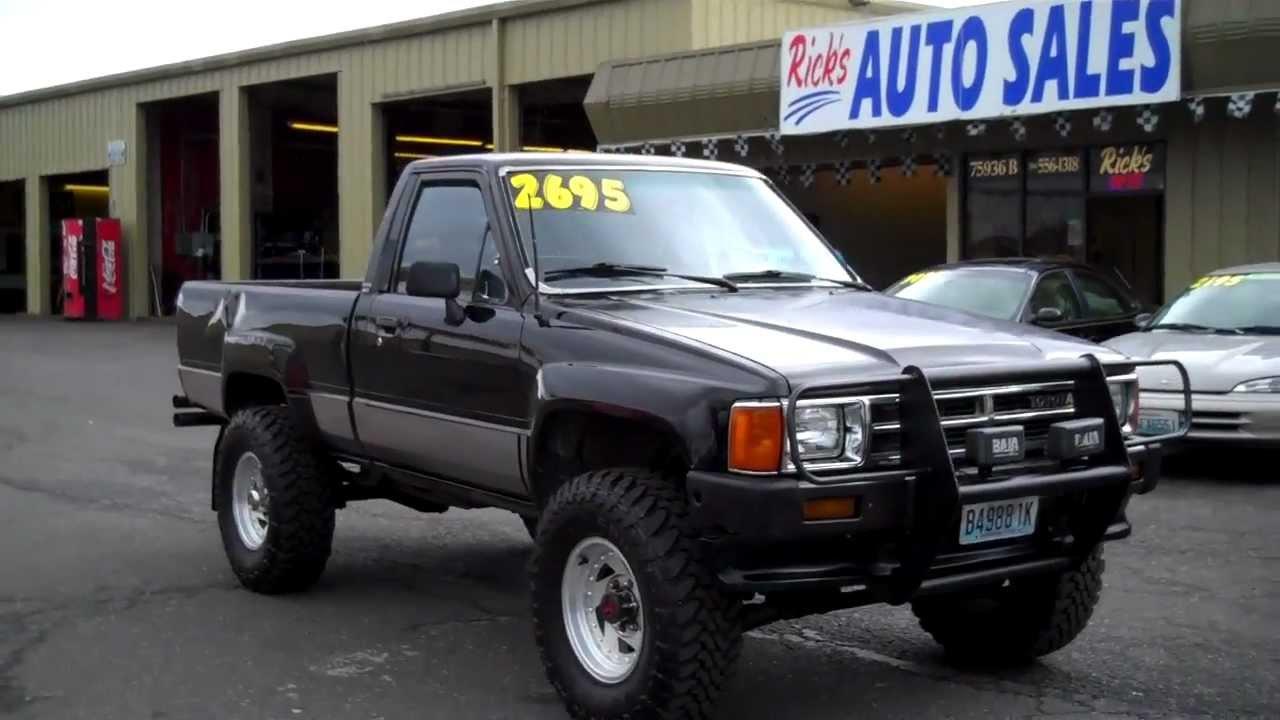 1988 Toyota 4x4 Sold