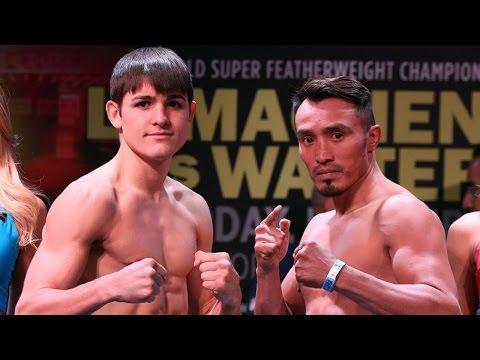 Weigh-in: Konstantin Ponomarev — Silverio Ortiz (Lomachenko - Walters)