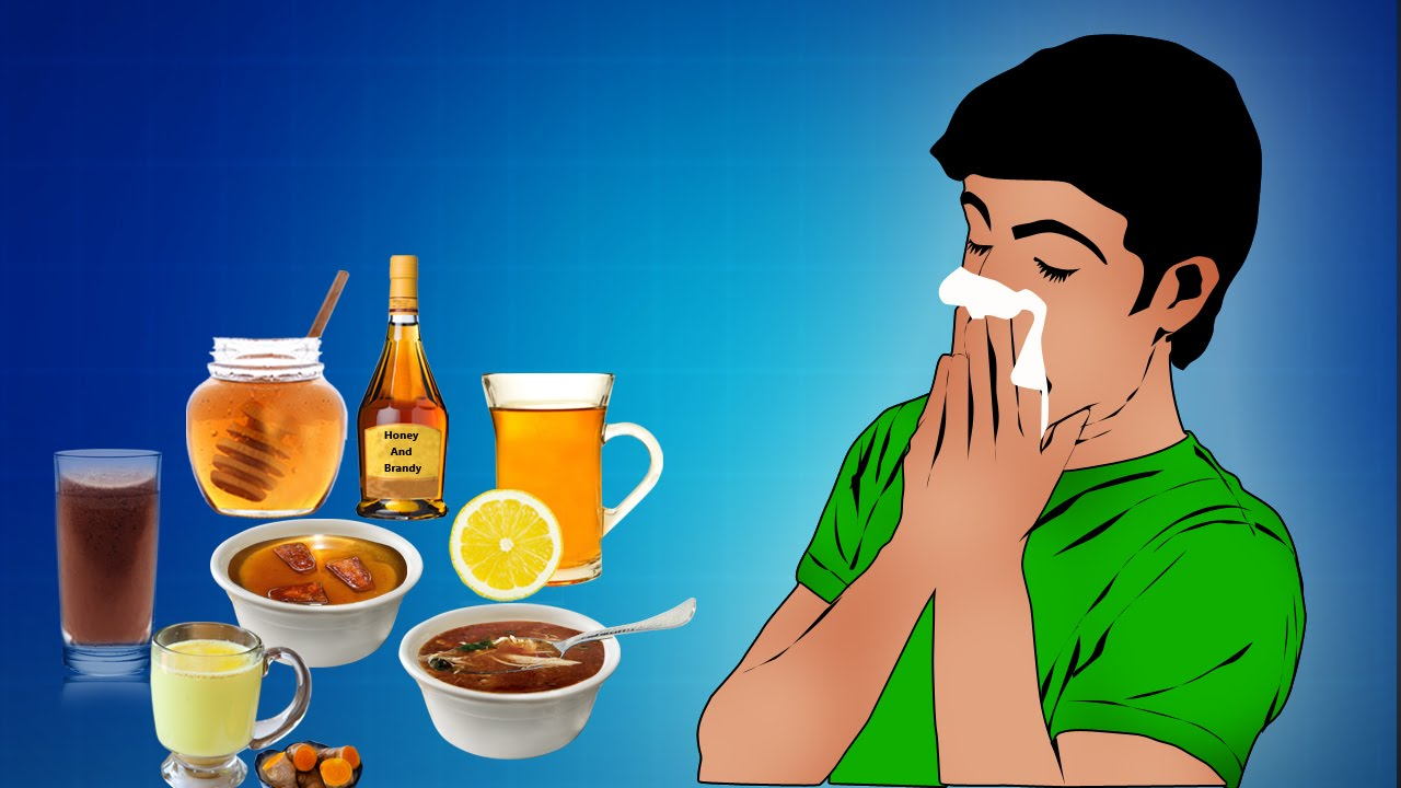 Treatment of a common cold at home