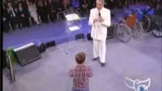 Benny Hinn - Little Boy receives God's Power