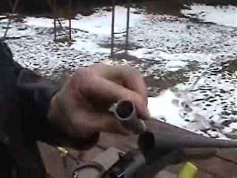 Shotgun Adapter: shoot a 20 gauge shell in a 12 gauge shotgun