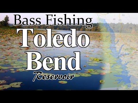 Toledo Bend - BASS Fishing (Hat Cam Bass)