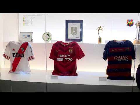 The FIFA Club World Cup is now on display in the Camp Nou Experience