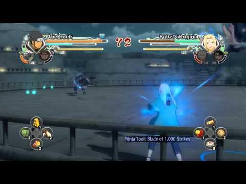 Naruto Shippuden Ultimate Ninja Storm Generations Online Battle: Asuma vs Lady Tsunade