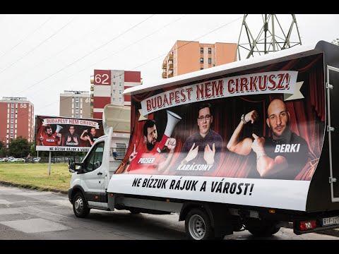 Budapest nem cirkusz! címmel indít plakátkampányt a Fidelitas