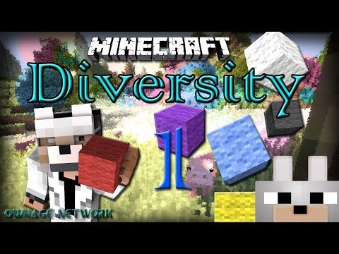 Minecraft Mini-Game: Diversity! [Multi-Genre] PART 1 ADVENTURE!