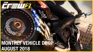 The Crew 2: August Vehicle Drop Trailer | Ubisoft [NA]