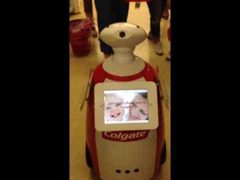 Говорящий робот в Краснодаре!