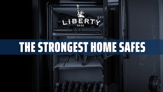 The Strongest Home Safes Thanks to Liberty's Exclusive Locking Bars