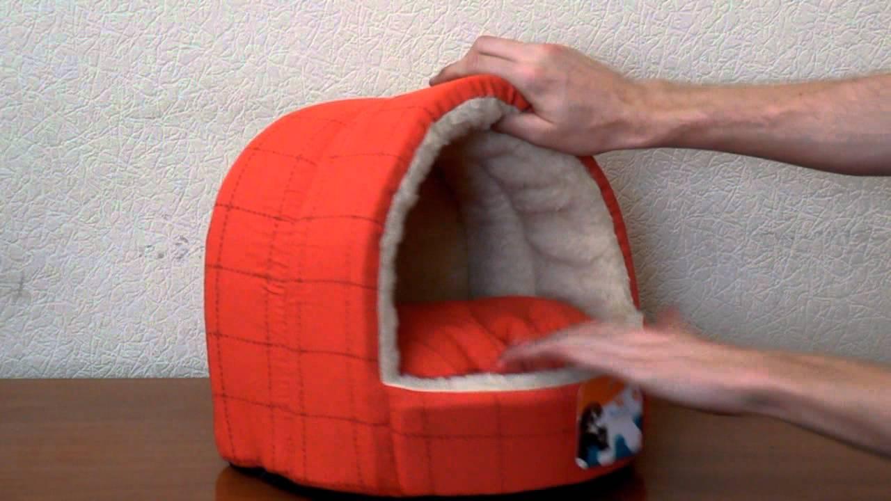 Как пошить домик для кошки своими руками 93