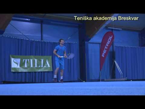 Blaž Kavčič o Teniški akademiji Breskvar