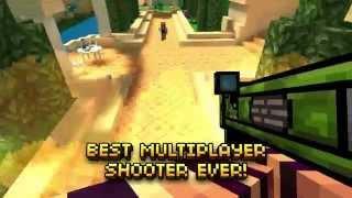 Pixel Gun 3D - Epic Multiplayer Shooter! New official trailer!