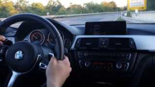 BMW F31 330d - Test, Acceleration 2013, XENONPLUS