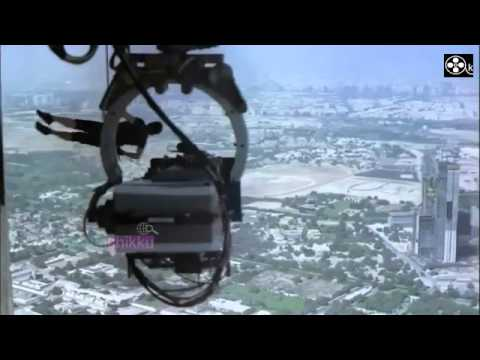 TOM CRUISE Burj Khalifa stunts for Mission Impossible 4