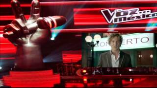 La Voz Mexico 3 David Bisbal