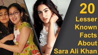 20 Lesser Known Facts About Sara Ali Khan | Kedarnath | Simmba