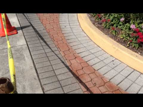 Staining Faded Pavers With New Dyeing Process