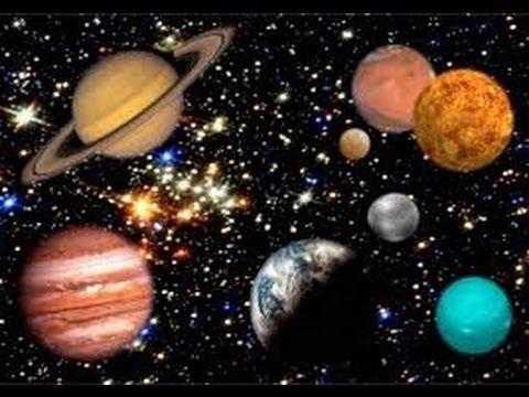 Solar System Vibration Meditation. (Planets Sound Frequencies of Orbit )