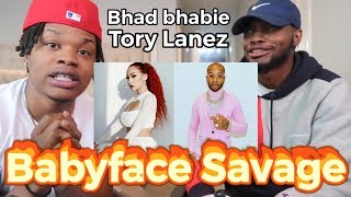 Snapped Bhad Bhabie Feat Tory Lanez 34 Babyface Savage 34 Official Music Audio Reaction