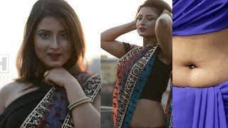 Bd Hot Model Navel Show | Saree Navel | FireBong - Episode 01