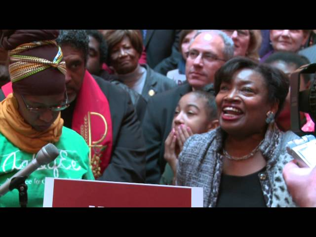 Alliance for Quality Education Moral Monday Andrea Stewart-Cousins REMARKS