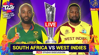ICC Men's Cricket T20 World Cup 2021 | SOUTH AFRICA VS WEST INDIES - LIVE | 26-10-2021 | Siyatha TV
