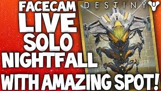 Destiny: SOLO Facecam Nightfall - Sekrion, Nexus Mind, Amazing Solo Spot - Nexus (Ishtar Sink Venus)