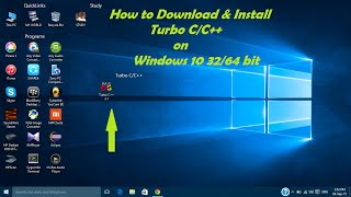 How to Download and Install Turbo C/C++ on Windows 10