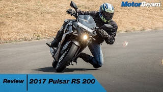 2017 Pulsar RS 200 Review -  5 Changes | MotorBeam