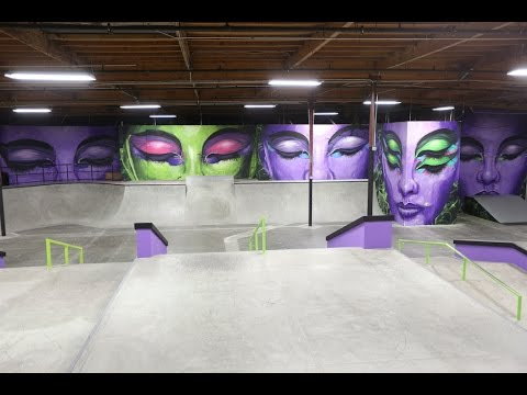 Madsteez Takes Over Nyjah's Skatepark
