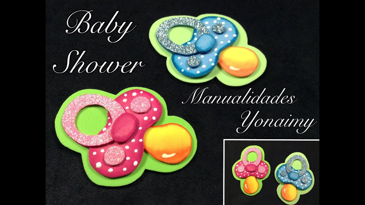 Molde De Foamy Para Baby Shower