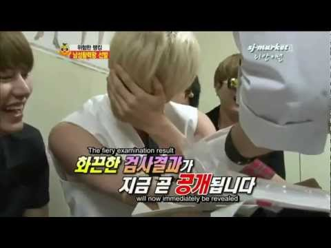 [ENG] Super Junior Eunhyuk Is Afraid Of injection