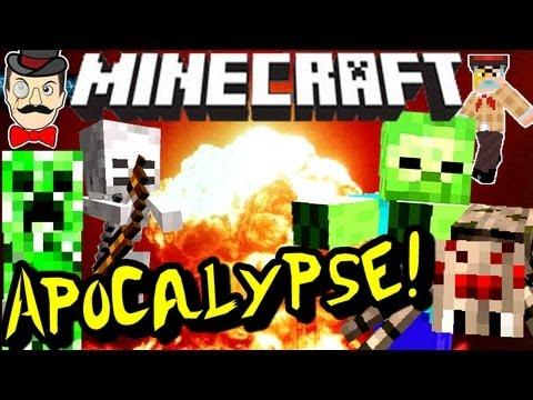 Minecraft MONSTER APOCALYPSE Mod!