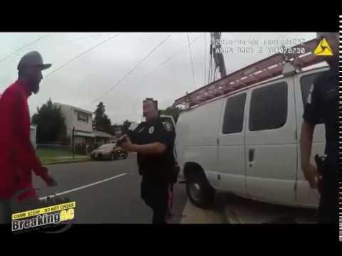Body camera footage of fatal Atlantic City police shooting