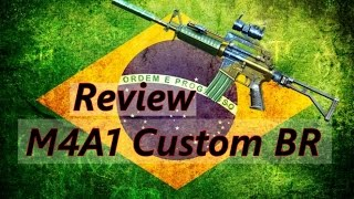 Review - M4A1 Custom BR - Crossfire AL