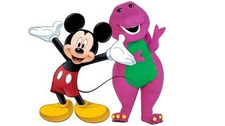 Barney/Mickey: The Happy Wanderer (Musical Mashup)
