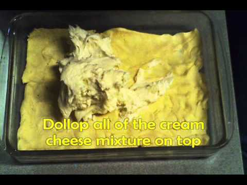 Making Sopapilla Cheesecake- A simple and delicious dessert!