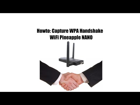 Howto: Capture WPA Handshake WiFi Pineapple NANO
