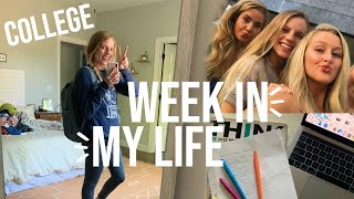 College week in my life!!