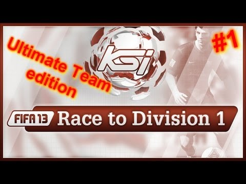 FIFA 13 | Ultimate Team | Race To Division One | A New Adventure #1