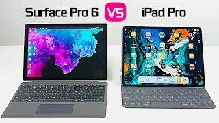 2018 iPad Pro vs Surface Pro 6