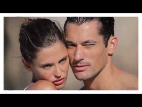 BTS - David Gandy & Bianca Balti - Dolce Gabbana Light Blue