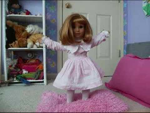 This is a stop motion film. It used around 615 picutes. 5 American Girl dolls compete in a fashion s