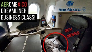 INCREDIBLE flight on AEROMEXICO 787-9 Business Class - to São Paulo! 🇧🇷 | Dreamliner review