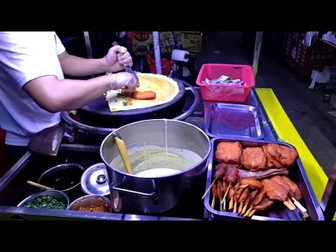 Шаурма на углях! Уличная еда под мостом! Типичная китайская шавуха! Китай. Chinese street food